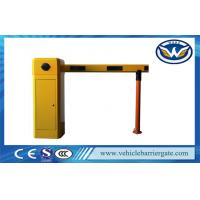 Buy cheap Yellow Car Park Barriers With 1 - 6 meters Straight Boom For Car Parking System product