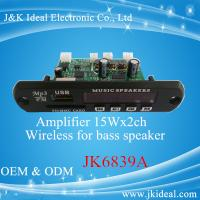 Buy cheap JK6839A Professional amplifier bluetooth usb mp3 player for home stereo product