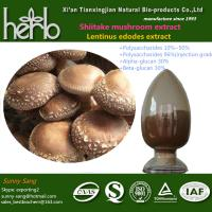 Quality Shiitake mushroom extract for sale