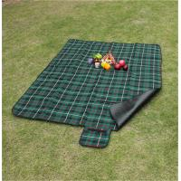 China Customize Pattern of 100% polyester waterproof picnic blanket for bulk sale on sale