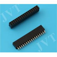 Buy cheap Brass Straight Female Header Connector Dual Row with Surface Mount Technology Type from wholesalers