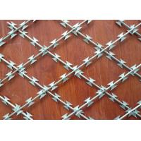 Buy cheap Easily Assemble Security Barbed Wire , 0.5mm Thickness Stainless Steel Razor Wire product