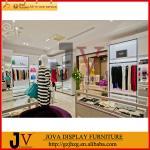 Горячая мебель дисплея продажи для дизайна внутреннего художественного оформления магазина одежды дамы
