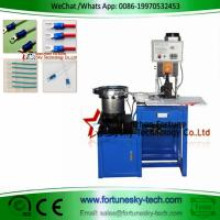 Buy cheap Vibrator Bowl Loose Terminal 2Ton 7200 PCS/Hour 110-220V Wire Crimping Machine Mold Easy Disassemble Blade Can Be Custom product