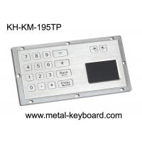 China Metallic Numeric Industrial Keyboard with Touchpad 16 Keys Dust Proof on sale
