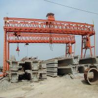 Buy cheap Industrial Double Girder Gantry Crane 30 Ton 20 Ton General for shipbuilding product