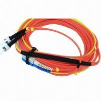 Buy cheap Fiber-optic Mode, Conditioning Patch Cord SC, ST Single Mode, Multi-mode 62.5/125um product