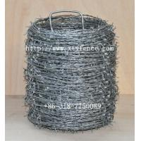Buy cheap Hot-dipped barbed wire product