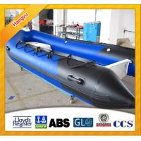 Buy cheap Blue color RIB Inflatable boat for water sports product