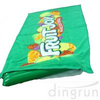 China Green Color Roll Up Promotional Beach Towels Mat Neck Pillow Environment Friendly on sale