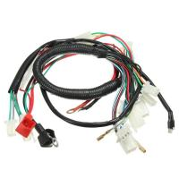 wire harness diagram 5 wire moped original car alarm headlight wire harness for motorcycles ...