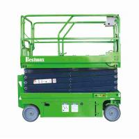 Buy cheap Electric hydraulic lift platform with extension table 10m self propelled scissor lift 320kg product