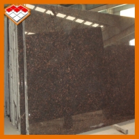Buy cheap 14.5 Mpa Natural Tan Brown Granite Stone Tiles For Steps product