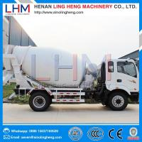 Buy cheap Whole sale high quality competitive price 4m³ Small Concrete Mixer Truck product