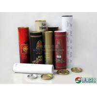 Buy cheap wine paper tube packaging from wholesalers