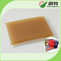 Buy cheap High Viscosity Amber Animal Hot Melt Adhesive Glue For Automatic Case Maker product