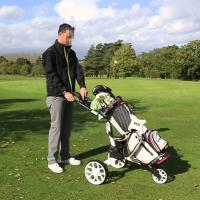 Buy cheap 3 Wheel Electric Golf Cart Trolley product
