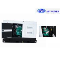 Quality 30kVA Land Use Cummins Diesel Generator Installed in Soundproof & Weatherproof Canopy for sale