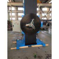 Buy cheap Portable Rotary Welding Positioners High Efficiency For Metal Welding product