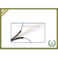 Buy cheap Indoor 4 Core FTTH Fiber Optic Cable Black LSZH Jacket CE/ISO/ROHS Certificated product