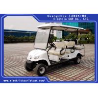 Buy cheap Professional Electric Club Car 6 Passenger Front 4 Seater Plus Rear 2 Seats product