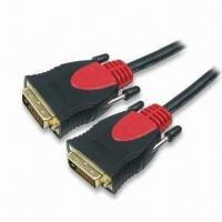 Buy cheap DVI Cable Assemblies, Made of PVC, Customized Specifications are Accepted product