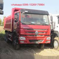 Buy cheap SINOTRUK HOWO New Condition 336hp 6x4 20 cubic meters dump truck product