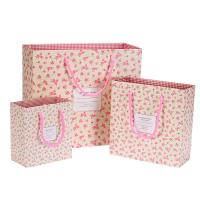 Buy cheap Cheap paper bag packaging wedding gift packaging with rope handle product