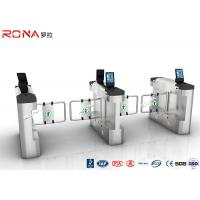 Buy cheap Single / Bi Directional Swing Gate Turnstile High Speed With Face Recognition product