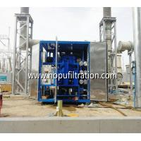 Buy cheap onsite working transformer oil treatment plant, insulation oil purification equipment, vacuum drying system with cover product