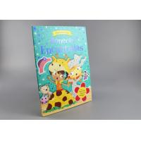 Buy cheap Blue Gold Foil Stamping Board Books For Toddlers , Cartoon Figure Kids Board from wholesalers