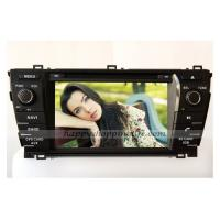 China Android Car DVD Player GPS Navigation TV System Bluetooth Touch Screen 3G Wifi for Toyota Corolla 2014 on sale