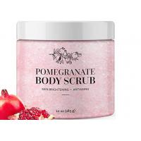 Buy cheap Daily Exfoliating Natural Body Scrub Anti Aging Pomegranate Salt Body Scrub product