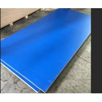 Buy cheap Blue Melamine Commercial Plywood Poplar / Hardwood Core For Indoor Decoration product