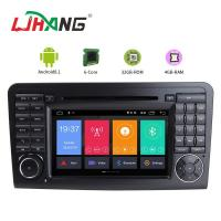 Buy cheap GPS Rear Camera AUX USB Port Mercedes Benz Navigation DVD Player With Car Radio product