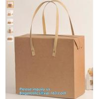 Low Cost Ribbon Handle Gift Carrier Custom Made Design Logo Print Luxury Paper Shopping Bag,carrier colourful Paper Bags