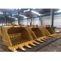 Buy cheap Durable Excavator Digging Bucket Digger Attachments For Hard Soil / Sand product