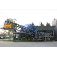 Buy cheap 100m3 / H Twin Shaft Mixer YHZS100Mobile Concrete Batching Plant 2 X 10m3 Aggregate Bin Volume product
