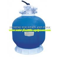China Top Mount Fiberglass Swimming Pool Sand Filters For Pools / Ponds Filtration on sale