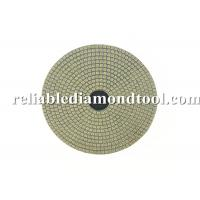 Buy cheap Electroplated Flexible Round Diamond Wet Polishing Pads 100mm Diameter product