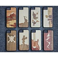 Buy cheap Ultra Slim Luxury Bamboo Wood iPhone Case Laser Personality Pattern OEM Available product