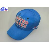 Buy cheap Embroidery 100% Polyester 6 Panel Baseball Sports Cap / Mens Baseball Caps product