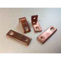 China Thick Bended Pure Copper Sheet Metal Bending Dies One Fixed Hole / Adjustable Hole on sale