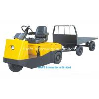 China 6T Electric Tow Tractor High Power Curtis Controller 48V Electric Trolley TG60 on sale