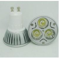 China New Style 3x2W Dimmable GU10 MR16 Cool White LED Spotlight With 60 Degree Beam Angle Base on sale