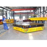 Buy cheap 25t mold handling electric trackless car on concrete ground battery power product