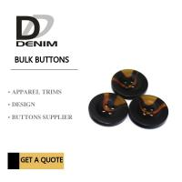Buy cheap Small Coat Garment Buttons Style & Design Unique Bulk For Clothing Brands product