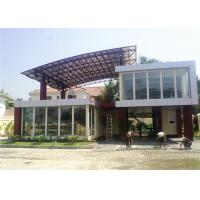 Quality Two Storey Prefab Durable Flat Pack Container House Light Steel Material for sale
