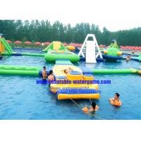 Heavy Duty Rent Inflatable Water Parks Environment Friendly CYWP-1626
