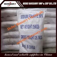 Buy cheap sodium formate used in leather indsutry, snow melting agent, textile industry from wholesalers